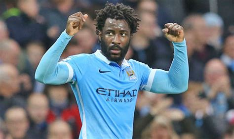 Man City boss delivers update on Wilfried Bony's future