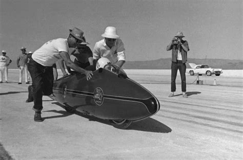 Images of Burt Munro on the World's Fastest Indian