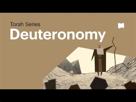 Deuteronomy * The Bible Project | Journey with God