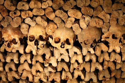 Your Chance to Sleep in the Paris Catacombs on Halloween