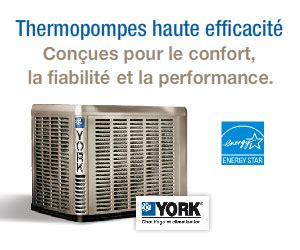 Thermopompe - Thermopompe centrale résidentiels