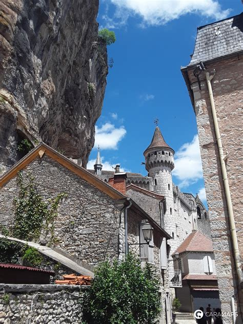 Discover Parking Rocamadour, a step by CaraMaps