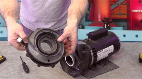Replacing an Aqua-Flo 200 seal and Impeller on a Hot Tub