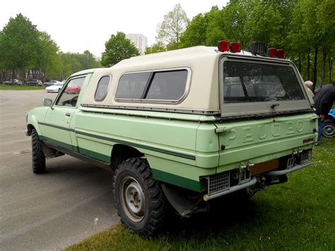 PEUGEOT 504 Pick-up DANGEL 4x4 | Photo prise lors du
