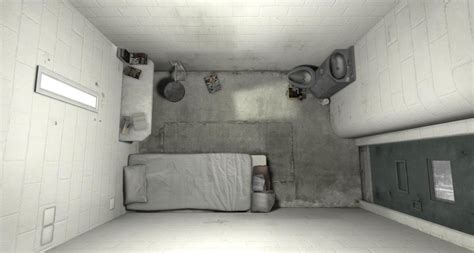 VR Journalism: Experience a Solitary Cell in Prison with