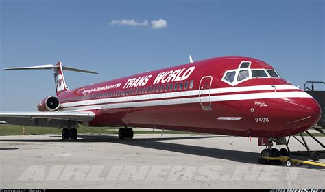 McDonnell Douglas MD-83 (DC-9-83) - Trans World Airlines