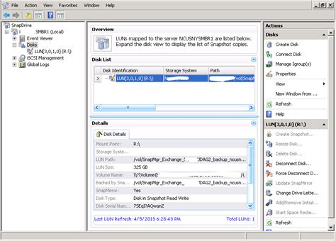 Restoring a Single Mailbox from a NetApp SnapManager for