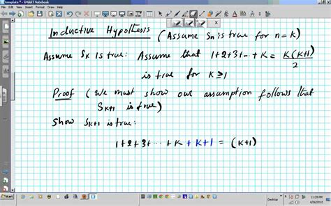 #1 Principle of Mathematical Induction Prove 1+2+3+