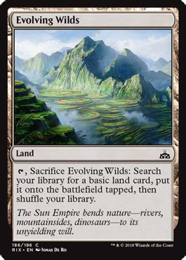 Evolving Wilds from Rivals of Ixalan Spoiler