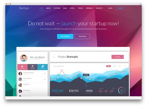 30+ WordPress Themes for IT Companies and Tech Startups