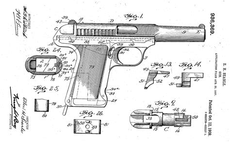 Historical Firearms - Savage Model 1907 The Savage Model