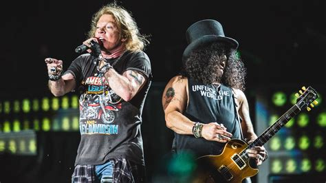 Here's The First Set List From Guns N' Roses' 2017