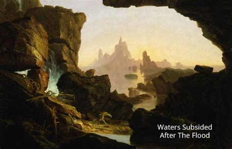 Was there rain before and after Noah's flood in Genesis