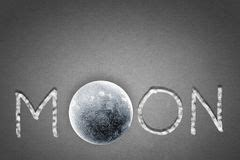 Night Word And Moon Stock Images - Image: 6726244