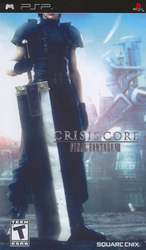 Crisis Core: Final Fantasy VII for PSP (2007) - MobyGames
