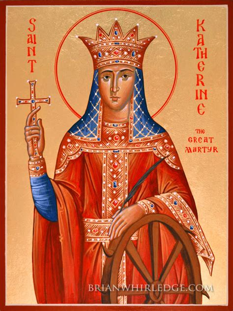 St Catherine of Alexandria, the Great Martyr – Damascene