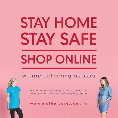 Mothercare Online Stay at Home Promotion (30 March 2020