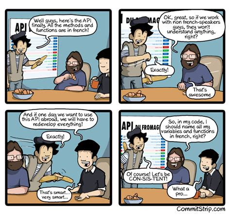 The story of a coder who doesn't speak english | CommitStrip