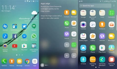 Download Samsung Galaxy Note 7 Launcher APK (GraceUX