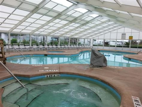indoor pool area - Picture of Lakewood Camping Resort