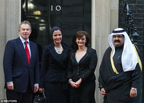 Why was Cherie Blair so keen to open doors for a