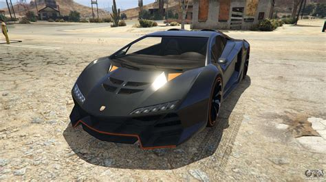 Pegassi Zentorno from GTA 5 - screenshots, features and