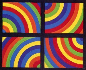 Color Arcs in Four directions de Sol Lewitt « Ecole