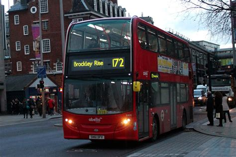 London Bus Routes | Route 172: Brockley Rise - Clerkenwell