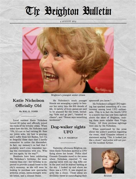 Funny Newspaper Generator with Pictures and Multiple