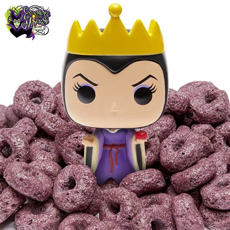 Funko Disney Villains FunkO's Cereal with Pocket Pop