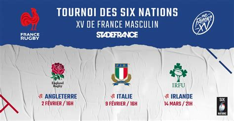 rugby france billet - Le Rugby à XV en France
