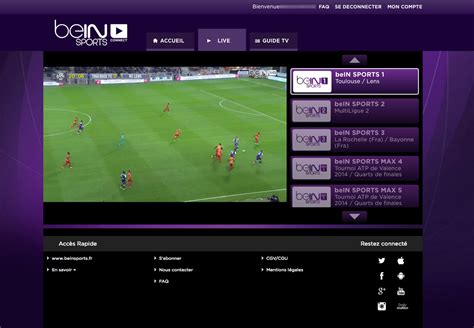 Unblock beIN Sports Connect outside France - Bypass Error