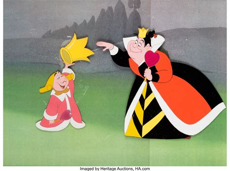 Alice in Wonderland Queen of Hearts and King of Hearts
