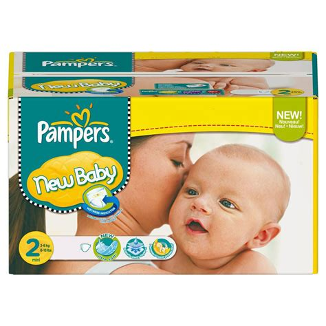 Maxi Giga Pack 264 couches Pampers New Baby Taille 2 Mini