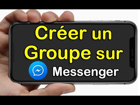 Facebook Messenger : discussion en groupe maintenant sur
