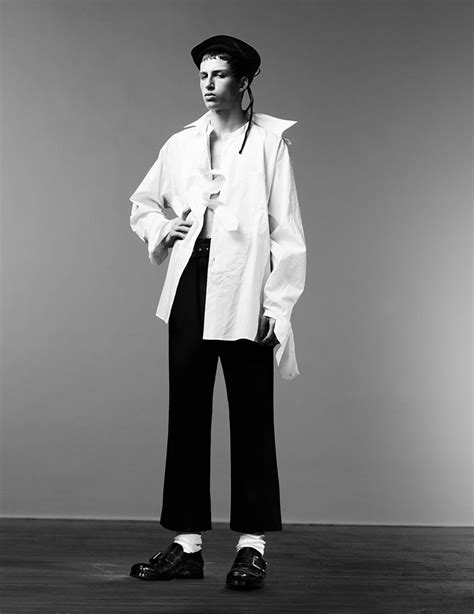 MAN ABOUT TOWN: Cargo de Nuit by Willy Vanderperre – Image