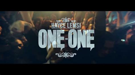 Hayce Lemsi - One-one (Clip Officiel) - YouTube
