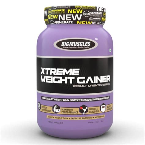 Big Muscles Xtreme Weight Gainer : nutrabay