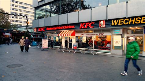 KFC Berlin, Germany   If there's a KFC in a city I'm