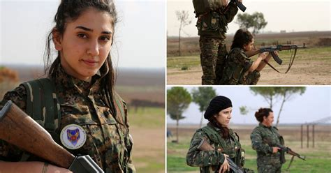 Female fighters form fierce Christian militia to take on