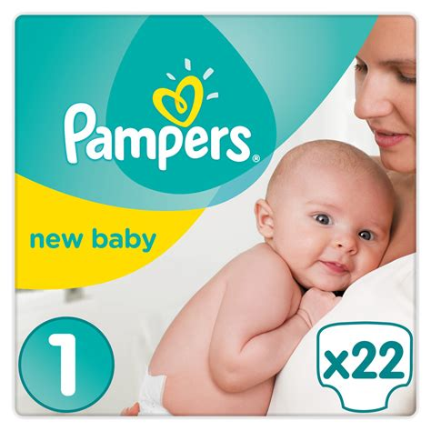 Couches premium new baby taille 1 (2-5 kg) 22 couches de