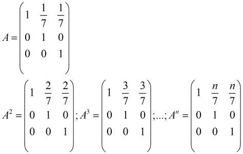 Powers of matrices | Matrices