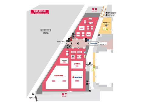 East Hall 7·8   Guide Map  TOKYO MOTOR SHOW [TMS] WEB SITE