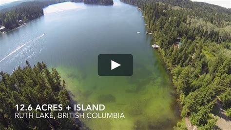 Cariboo BC Waterfront property for sale (Ruth Lake) on Vimeo