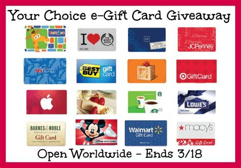 $50 eGift Card or PayPal Cash Giveaway! Ends 3/18 #