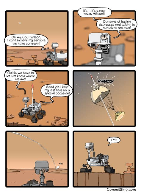 Meanwhile, on Mars #11 | CommitStrip