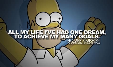 Sad Quotes From The Simpsons