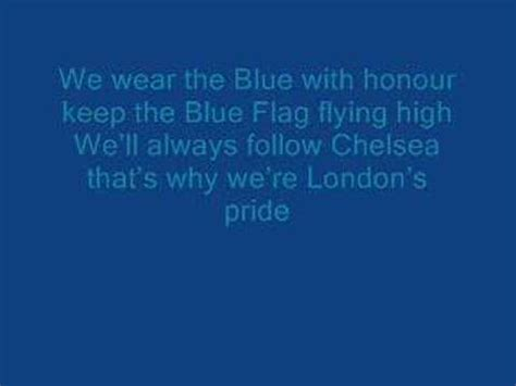 Chelsea FC-Pride of London-with lyrics - YouTube
