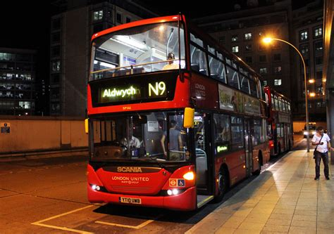 London Bus Routes | Route N9: Aldwych - Heathrow Terminal 5