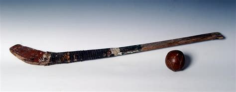 Antique Hurley Stick owned by Michael Cusack - GAA Founder